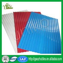 Unit weight building materials patio awning cover light weight PVC roof sheet for home