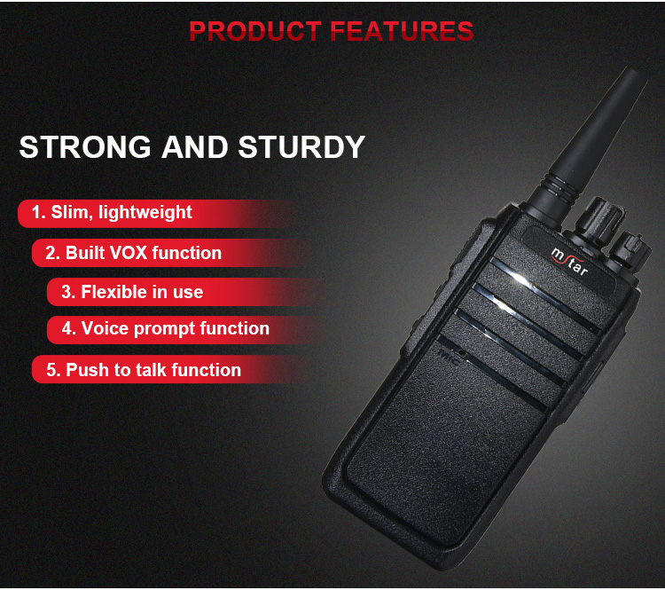 Custom logo vhf digital radio 16 ch Digital Radios Two Way Long Range Walkie Talkie For the hotel