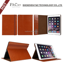 high quality folio stand leather case for ipad pro 9.7 inch case