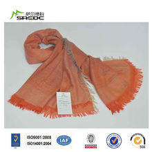 head kerchief,polyester square scarf,orange polyester scarf