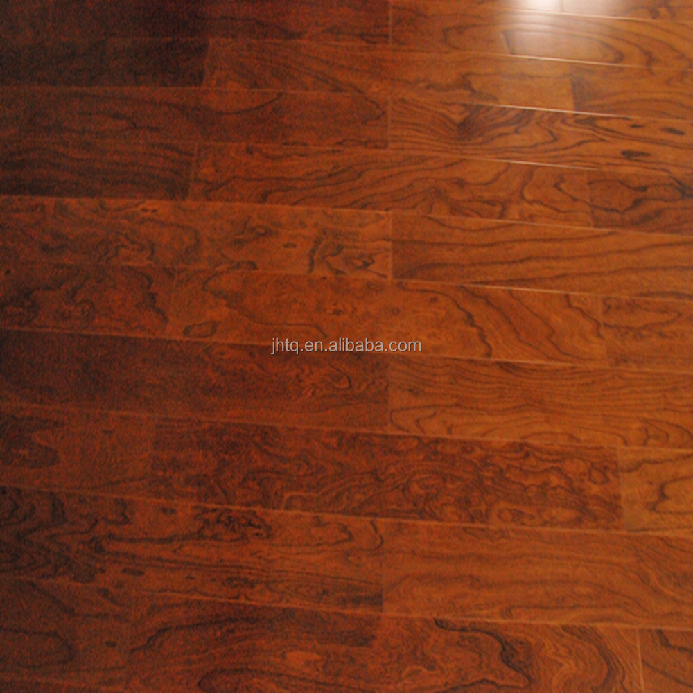 Elm Smooth Multilayer Solid Wood Flooring Manufacturer With High Quality