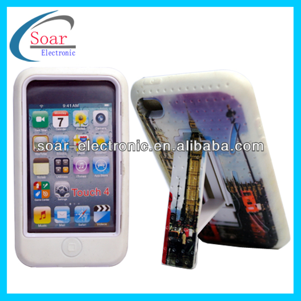 Design Hybird Cute Case for iPod Touch 4
