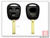 AS007008 Car 3 button Remote Key Shell for Toyota with toy48 blade length 38MM