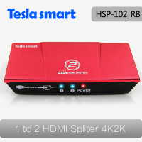 4K HDMI 2.0 1 In 2 Out HDMI Splitter 1x2