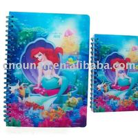 3D Lenticular Notebook Customized For School