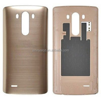 Mobile phone repair parts for LG G3 back cover with NFC gold