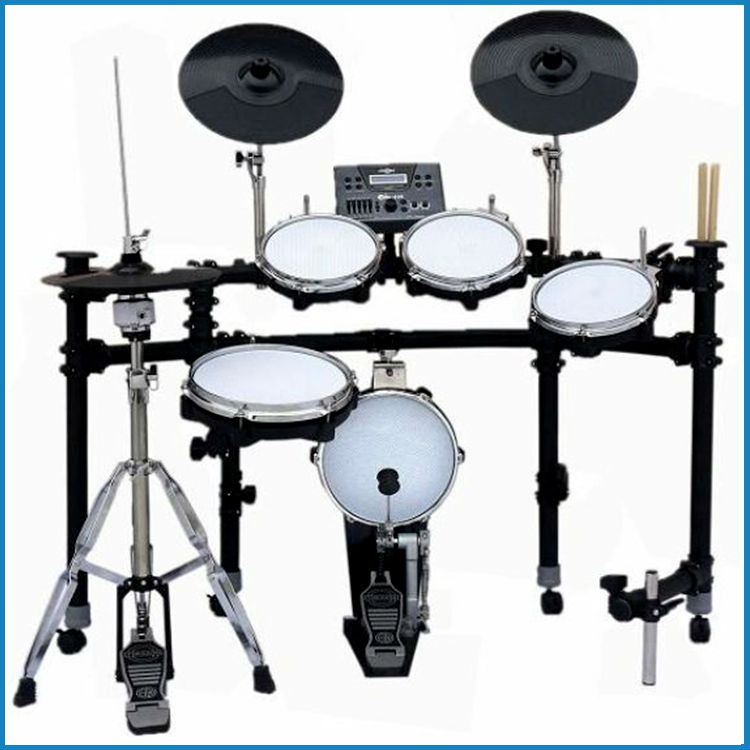 electrical drum kit double touch off, drum set China, electrical drum set