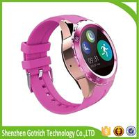 Mini touch screen smart watch 300mAh 3g smart watch phone and high quality watch for women with best price