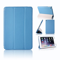 Premium PU Leather Folio Case with Smart Cover Auto Sleep / Wake Feature for Apple iPad mini 4 Case Released on 2015