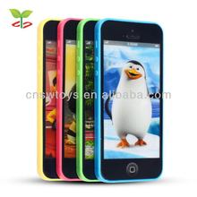 New 3D Y-Phone 5C Talking Animal Mobile Phone Toys Dialogue Learning Machine Touch Screen Education Toys