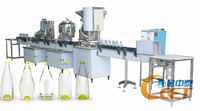 Small Bottled Water Production Line / Mineral Water Filling Machine 2000-3000BPH