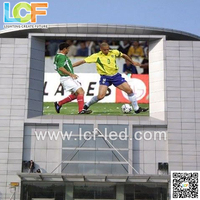 Outdoor advertising rental led screen RGB 10mm pixel pitch led display
