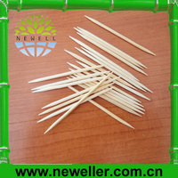 2014 Natural toothpick tube of coffee cup shape With OPP Bag