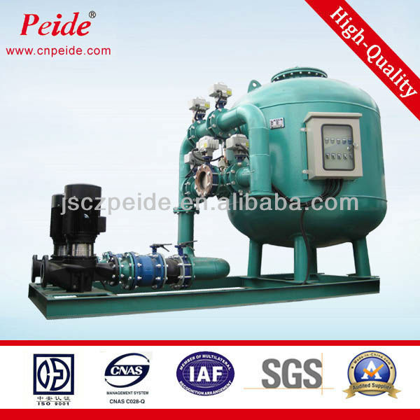 Automatic high speed sand sewage filter regularly