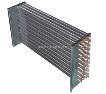 Customized Refrigeration Copper Tube Fin Coil Evaporator