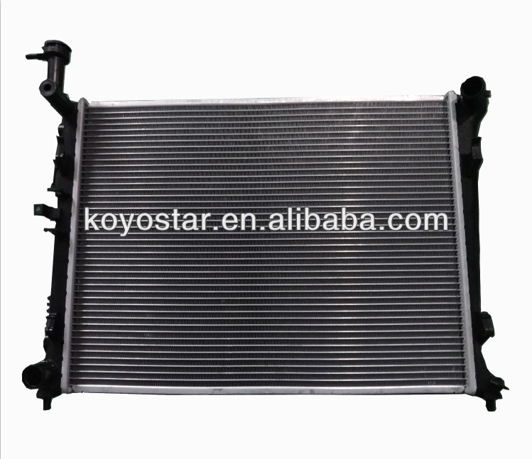 Aluminum-Plastic radiator for KIA CERATO 09 MT