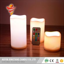 Large Decorative Color Changing Led Candles