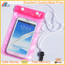2015 hot items waterproof cell phone bag