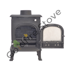 Heating Cast Iron Stove