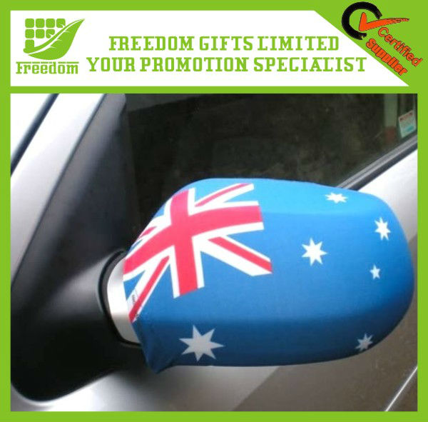 Logo Printed High Quality Car Mirror Flag