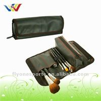 Polyester Portable Makeup brush bag