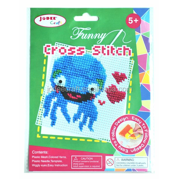 Hot Sell simply cross stitch kit for kids