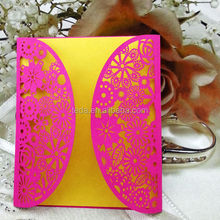 China cheap customed Laser Cutting, Wedding Invitations Cards, greeting card