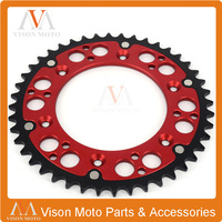 47T 520 REAR CHAIN SPROCKETS FOR HUSVARNA 125 250 300 350 450 501 OFF ROAD RACING MOTORCYCLE ENDURO