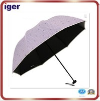 printing promotion folding clear umbrella