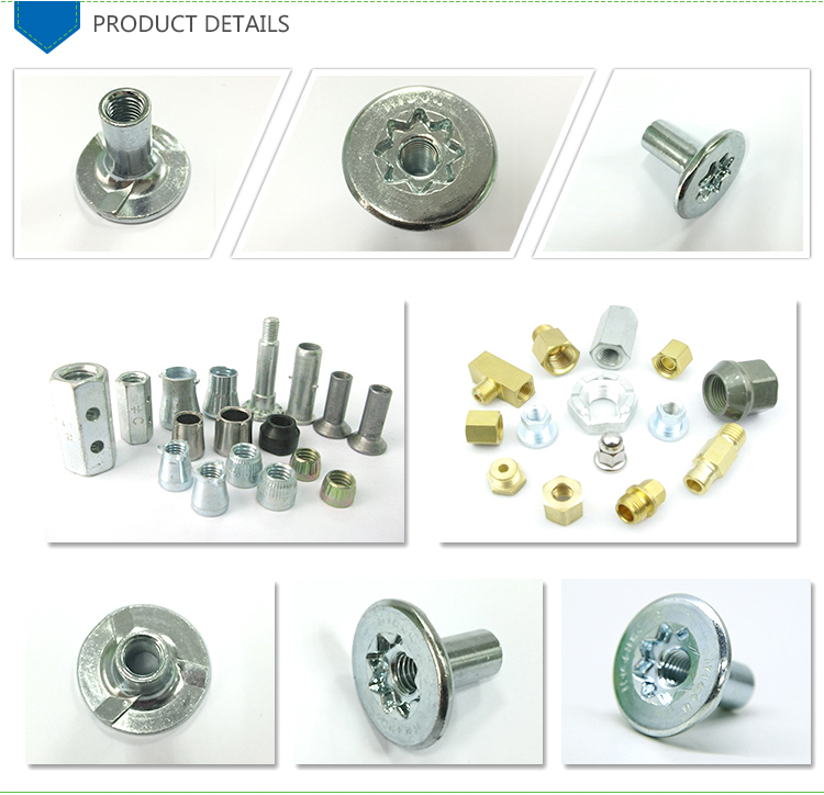 Good firmness standard size square threaded rod and nut
