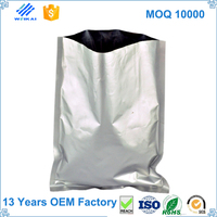 waterproof pvc ziplock bag, garment bag with screen printing, Plastic clothes box SHWK1399