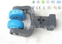 Wheel Trolley Roller For Chicken Slaughtering Line