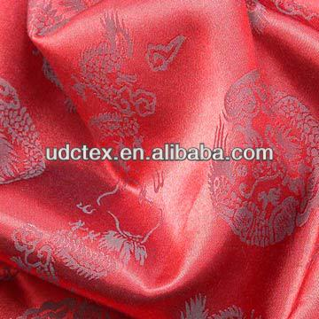 Fashion dress fabric 100% polyester floral printed satin fabric