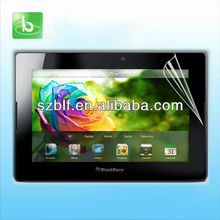 Fingerprint invisible LCD screen protector for blackberry playbook