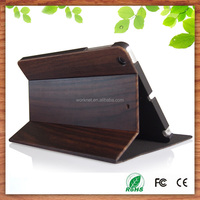 2016 new arrival natural wood flip case for ipad mini 4, for ipad mini 4 case wood