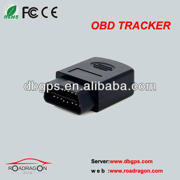 2013 48 channel DBGPS Track OBD Real Time GPS Vehicle Tracker Tracking Diagnostic OBD2