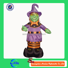 halloween witch inflatable advertising cartoon for sale