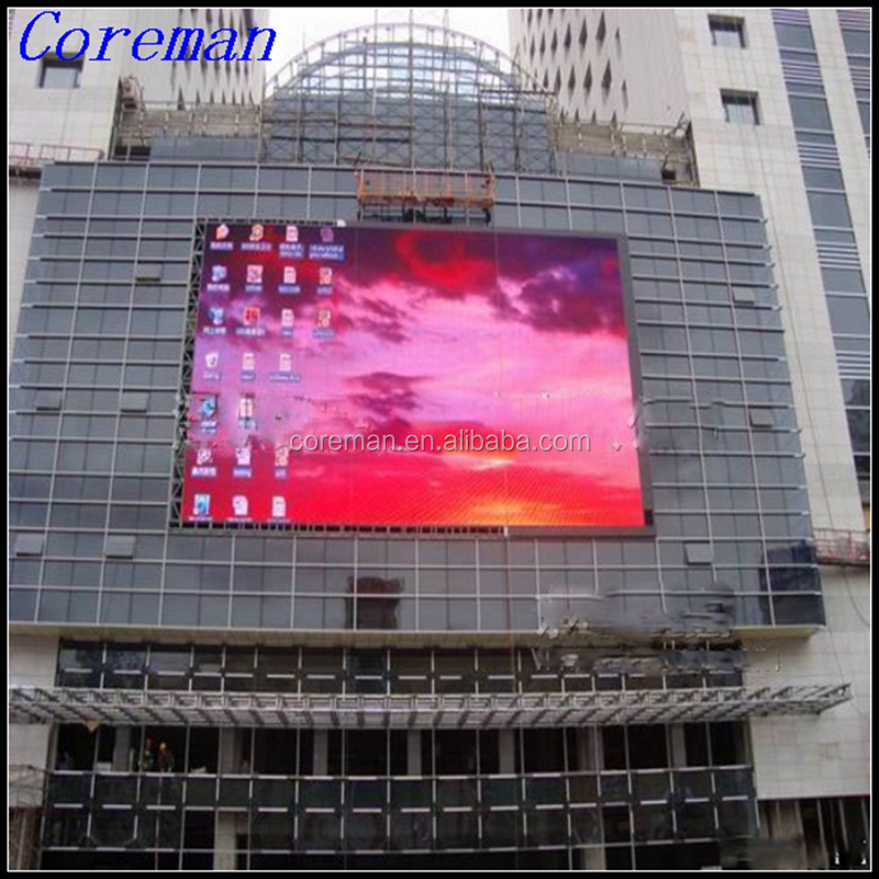 p16 free china xxx video xxxx movies led display Coreman p10 full color led module / Cree Epistar led chip