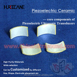 Multipurpose Ultrasonic Piezoelectric Ceramic for transducer/filter/detector