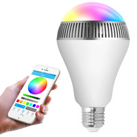 mini music bulb speaker party bulb led smart lamp led bluetooth lamp color changing led lighting