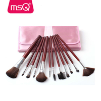 MSQ 12pcs cheap beauty needs makeup brush set wholesale professional cosmetic brush tools