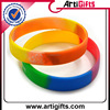 Eco-friendly cheap assorted color silicone bracelets
