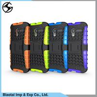 For Motorola Moto X Play Rugged Kickstand Hybrid Armor Hard Shockproof Mobile Cell Phone Case Back Cover
