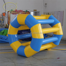 SWIMMING POOL FLOAT inflatable floating human hamster wheel toy water lake raft kids