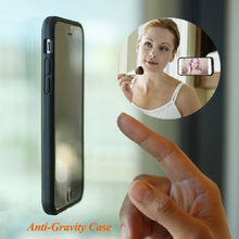 Nano Suction Stick On Wall Antigravity Mobile Cell Phone Cover Zero Anti Gravity Phone Case For Iphone