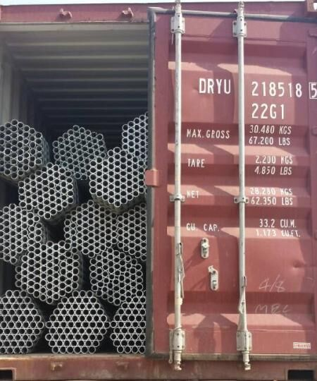 EN1139 48.3mm galvanized scaffolding tube / steel scaffolding pipe