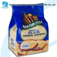 Plastic food sealing bag packaging sandwich in daily