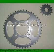 standard 1045# steel high quality motorcycle sprocket motorcycle gear sprocket for yamahas rx100