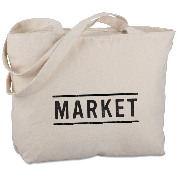natural cotton linen grocery bag for market shopping