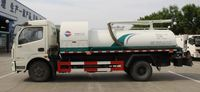 Large capacity heavy duty Vacuum Sewage Suction Truck